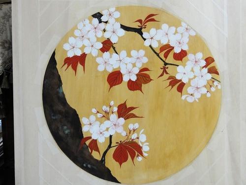 瀧仙寺本堂天井画_e0240147_1449204.jpg