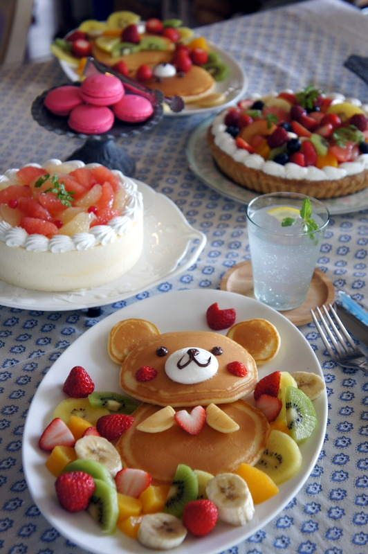 あじさいの和菓子を作りました。_d0210450_16074761.jpg