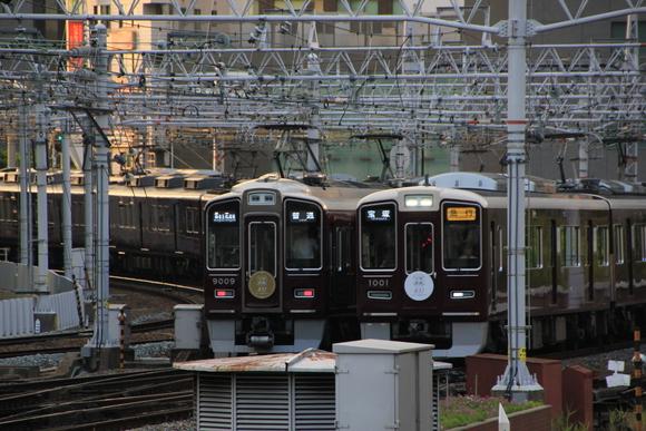阪急1001F 梅田駅にて・・_d0202264_22202228.jpg