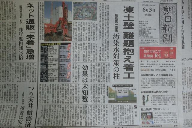 素晴らしきチーム福島原発廃炉に挑戦、子供たちに素晴らしい日本を残す原発廃炉事業に特別評価をすべき_d0181492_1062547.jpg