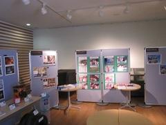 秋田大学インフォメーションセンターでの展示_a0265401_22265661.jpg