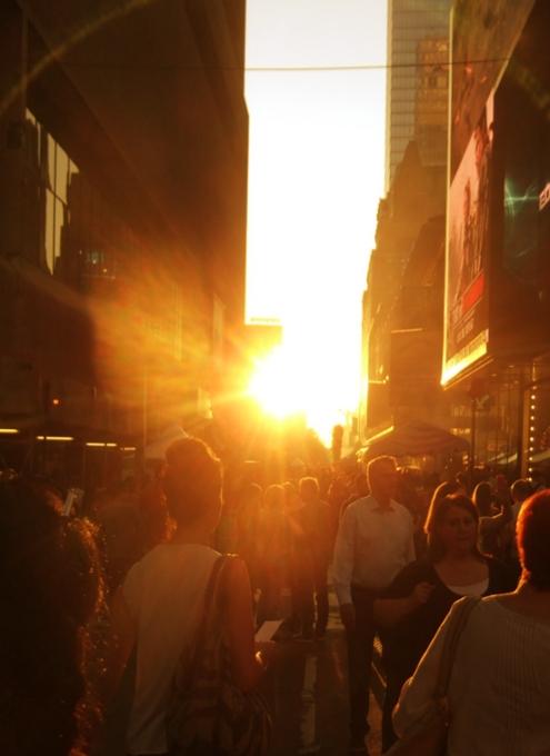 マンハッタンヘンジと食の祭典 Taste of Times Square_b0007805_317749.jpg