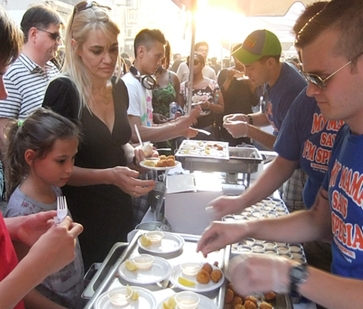 マンハッタンヘンジと食の祭典 Taste of Times Square_b0007805_3184959.jpg