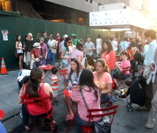 マンハッタンヘンジと食の祭典 Taste of Times Square_b0007805_345922.jpg