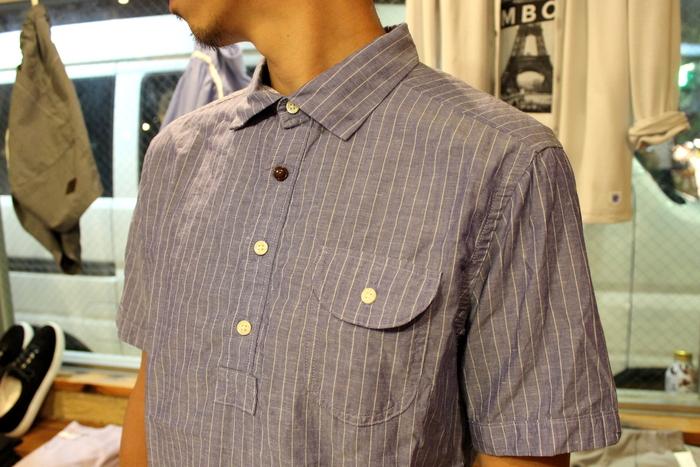 ◆Tensel Linen Pull Over Shirt _e0142928_15173762.jpg