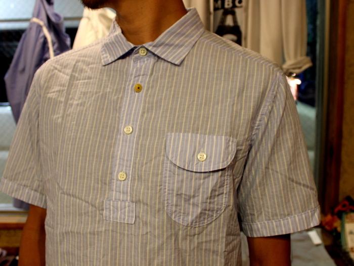 ◆Tensel Linen Pull Over Shirt _e0142928_15423921.jpg