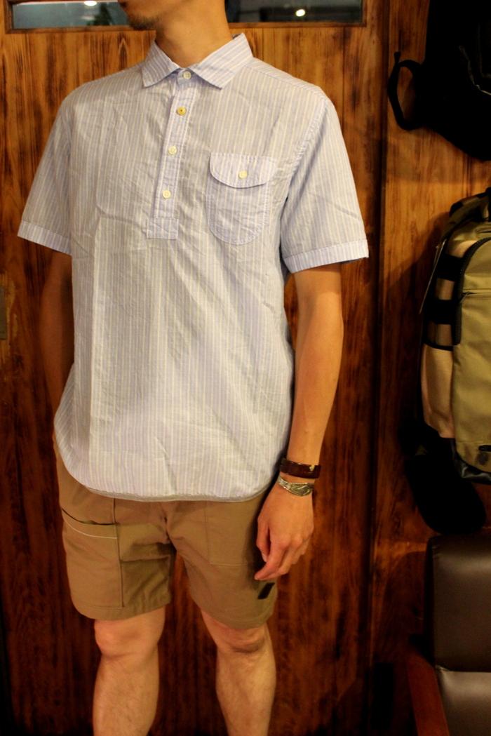 ◆Tensel Linen Pull Over Shirt _e0142928_15432133.jpg
