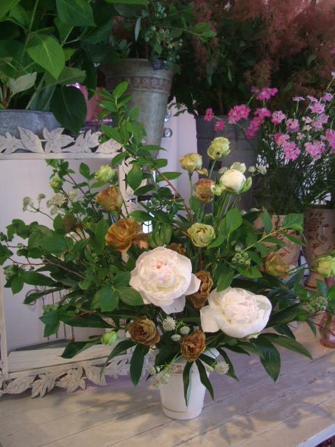 オークリーフ花の教室(加田さんの作品)_f0049672_172284.jpg