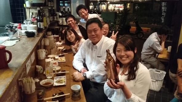 社長と東京支店メンバ!_a0215492_212452100.jpg