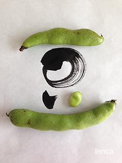 空豆を収穫しました_c0053520_0333378.jpg