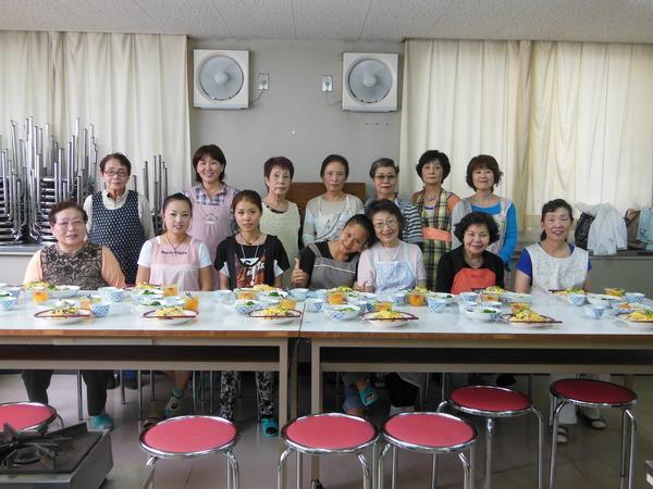 水曜昼教室の料理の会_e0175020_1738733.jpg