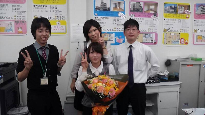 【東店】誕生日♪_b0203727_1244398.jpg