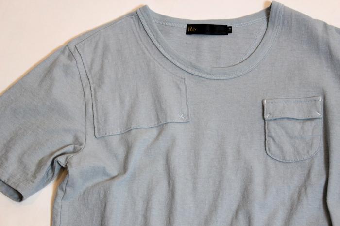 ◆Belgian Linen Shoulder Pad Tee_e0142928_17264261.jpg