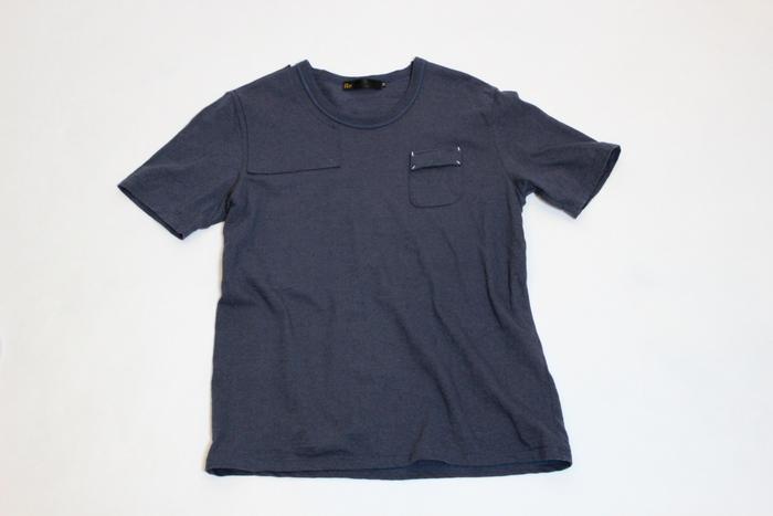 ◆Belgian Linen Shoulder Pad Tee_e0142928_17351765.jpg