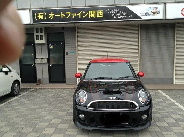BMW ミニ スモーク貼り_d0171835_2031551.jpg