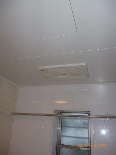 在来浴室からTOTOサザナへリフォーム 5_e0207151_16355123.jpg