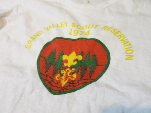 6/7(土)入荷!1974年BOYスカウトTシャツ!染込みプリント!_c0144020_14194958.jpg