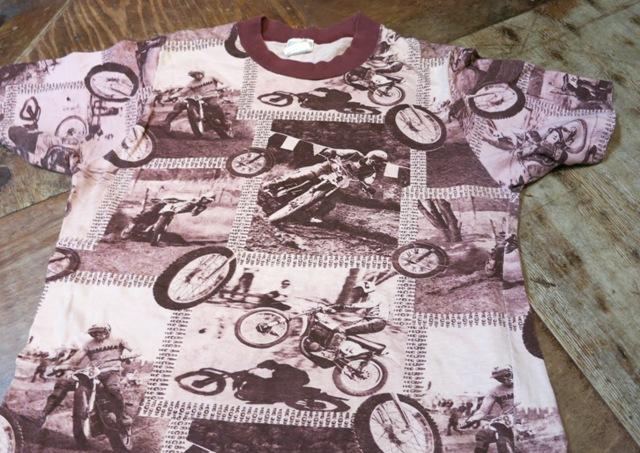6/7(土)入荷!70'S 総柄 モータサイクルPHOTO Tシャツ!_c0144020_1453149.jpg