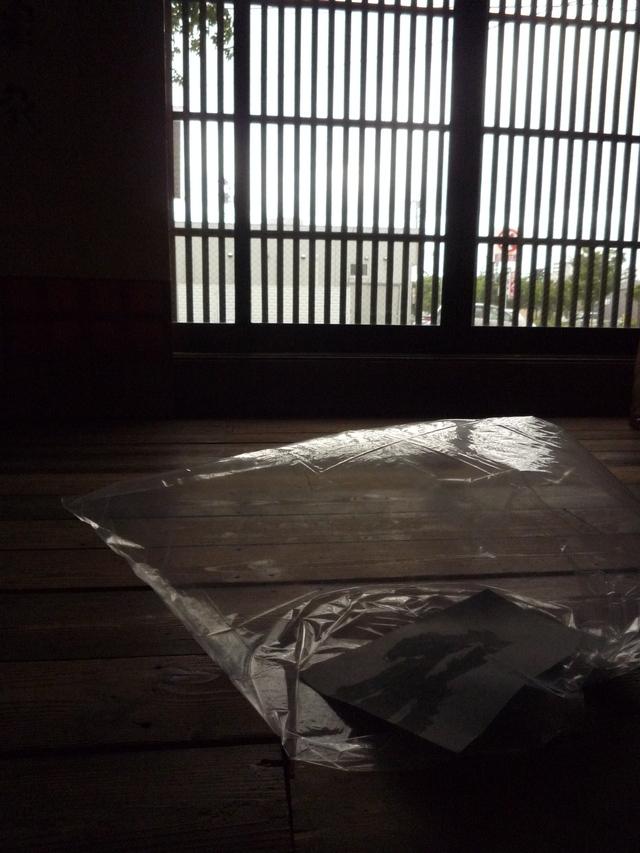 2014.6①華雪展「家を巡る」前_e0138627_15234127.jpg