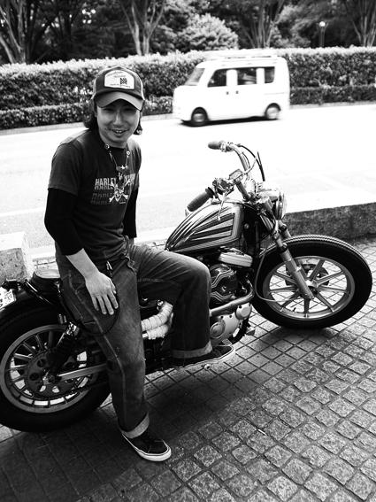 梨本 博文 & Harley-Davidson XLH1200(2014 0520)_f0203027_2052401.jpg