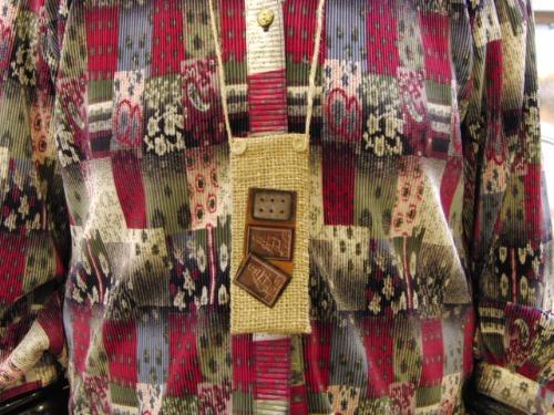 裁縫 ~ 絞り染め巾着 ~_e0222340_16141157.jpg