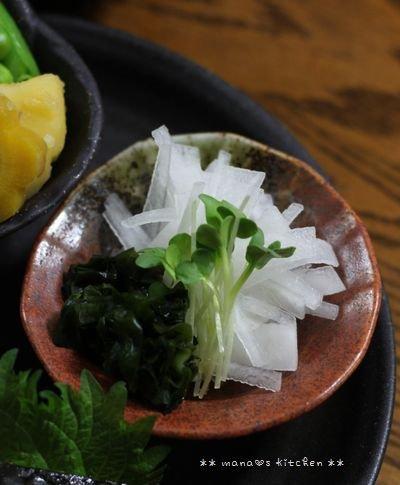 海苔巻きチキンの照り焼き ☆ 惣菜食べ収め♪_c0139375_1193181.jpg