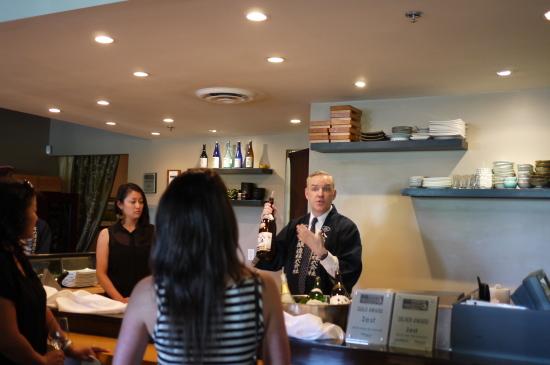 新潟のお酒八海山@Zest Japanese Cuisine_d0129786_14373727.jpg
