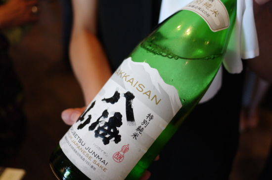 新潟のお酒八海山@Zest Japanese Cuisine_d0129786_14391172.jpg
