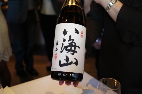 新潟のお酒八海山@Zest Japanese Cuisine_d0129786_14462089.jpg