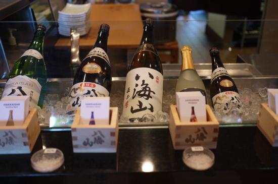 新潟のお酒八海山@Zest Japanese Cuisine_d0129786_1461259.jpg