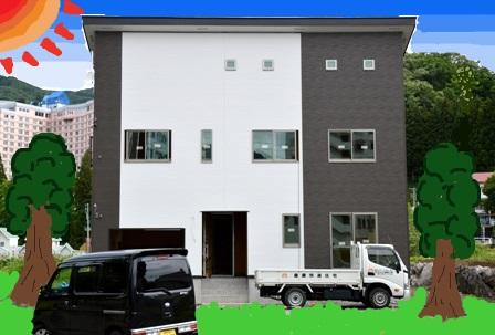 南魚沼市の新築 完成マジか_a0128408_17433722.jpg