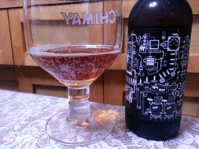 昨夜のビールVol.140 ブリュードッグ ミックステープ 8 樽熟成 バーレイワイン 330ml¥1,600_b0042308_1172936.jpg