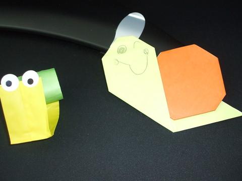 折り紙遊び♪_b0228113_1627652.jpg