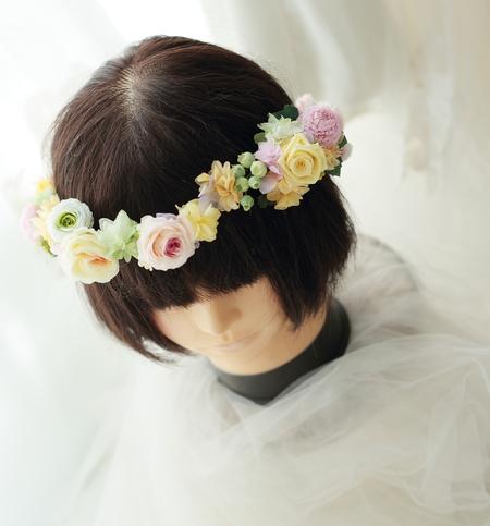 一人でつけられる花冠とリストレット 立川へ_a0042928_2131451.jpg