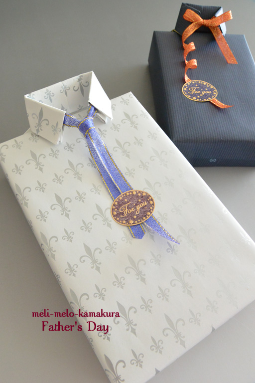 ◆Wrapping*Father\'s Day_f0251032_10431072.jpg