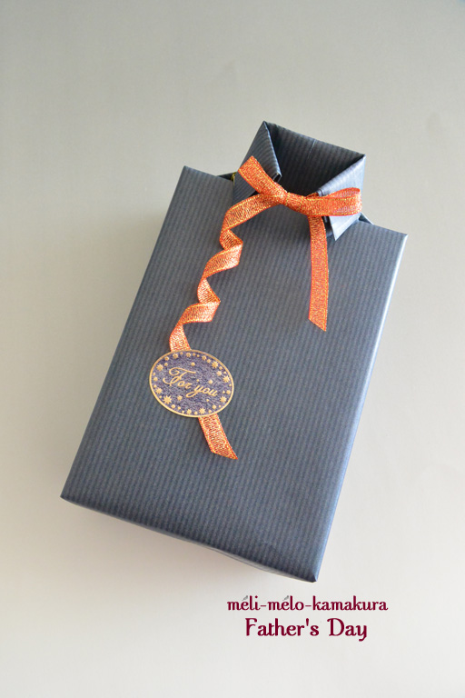 ◆Wrapping*Father\'s Day_f0251032_10453492.jpg