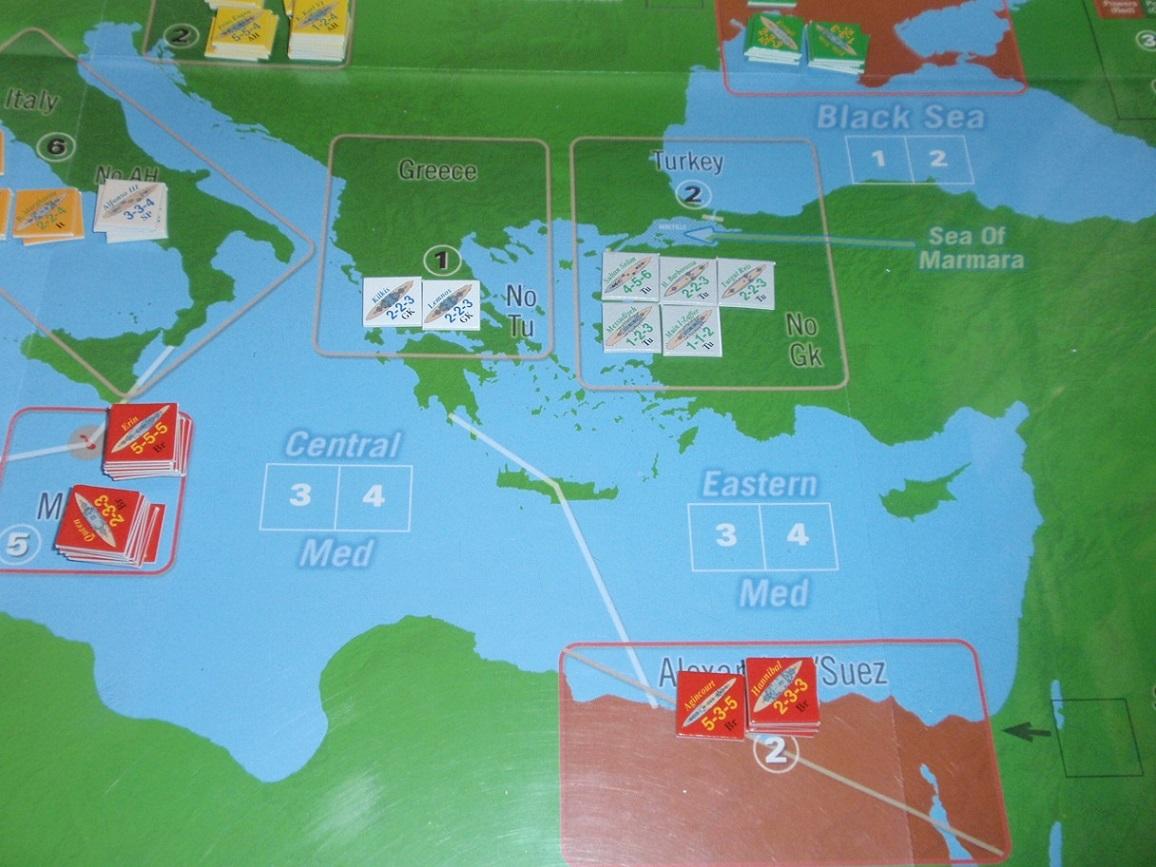 Decision Games「Nine Navies War」③_b0162202_22272263.jpg