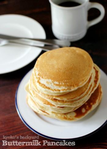 自家製バターミルクのパンケーキ(とHunter Cat)_b0253205_2318173.jpg