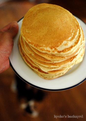 自家製バターミルクのパンケーキ(とHunter Cat)_b0253205_23194526.jpg