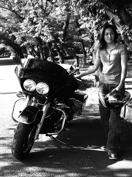大谷 奈津江 & Harley-Davidson FLTR(2014 0518)_f0203027_16475654.jpg