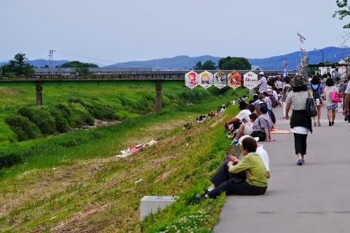 大凧合戦 見附今町 VS 長岡中之島_e0266363_20103711.jpg