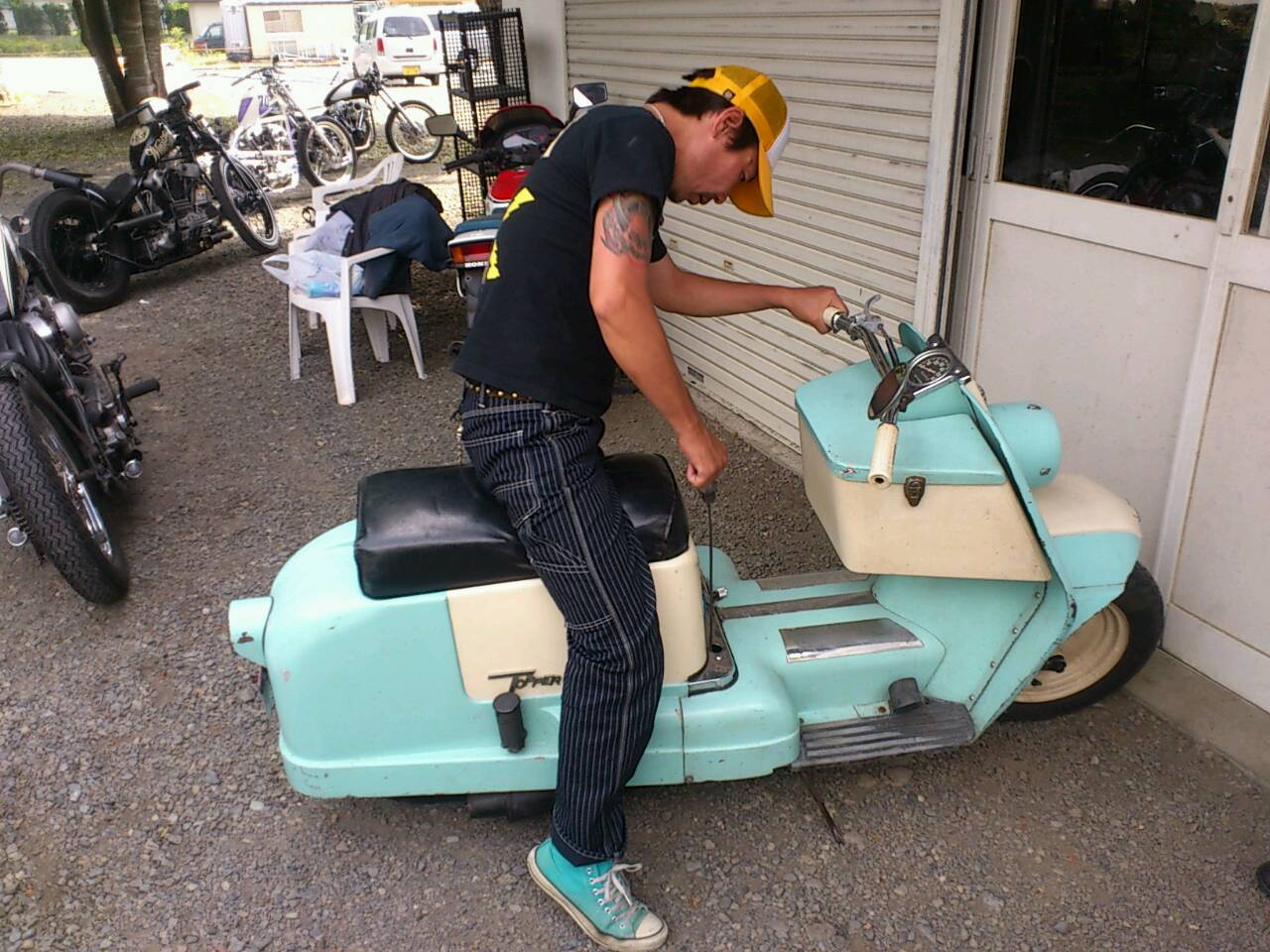 MOTORCYCLES DENさんにて。_d0149307_83153100.jpg