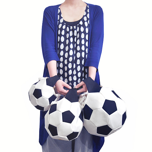 soccer ball bag / Ore_d0193211_17302840.jpg