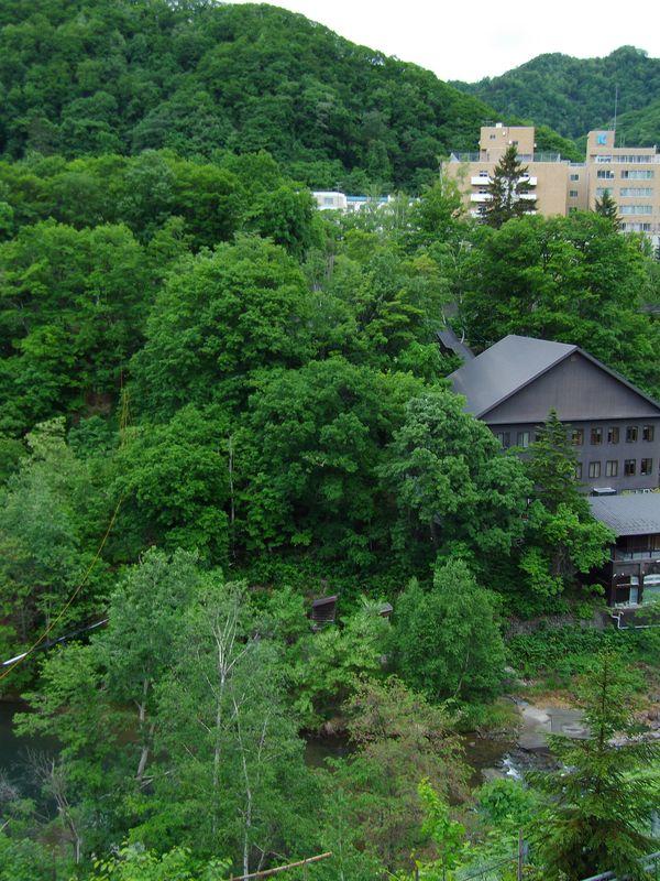 札幌の奥座敷でのオフと白から赤へ移る庭_c0025115_21111088.jpg