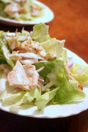 鶏胸肉のシーザーサラダ_f0141419_06260242.jpg