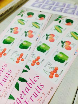 今日買った切手と東京中央郵便局のポストのスタンプ?_a0275527_23334231.jpg
