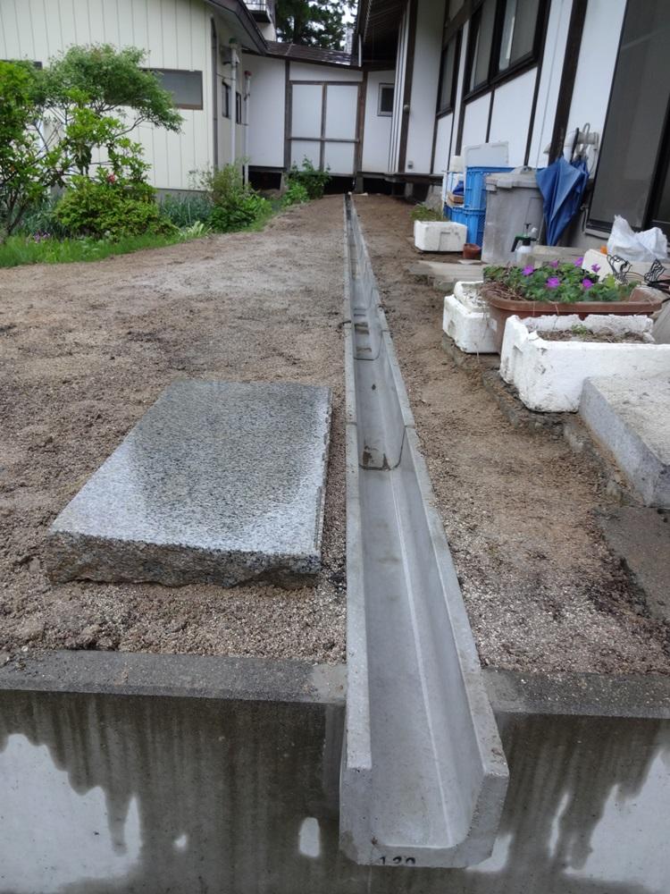 排水工事完了_c0111229_18441581.jpg