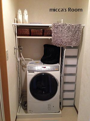 洗濯機周りをスパイラルチューブと板で改善_b0245038_22161556.jpg