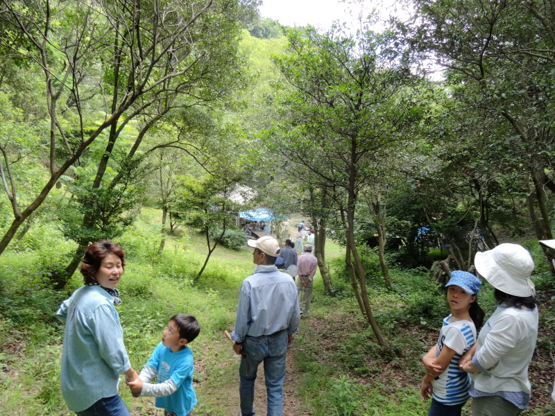 地域交流会2014    in  孝子の森     by     (TATE-misaki)_c0108460_01034994.jpg