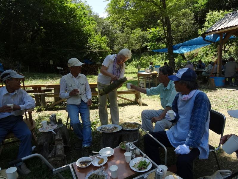 地域交流会2014    in  孝子の森     by     (TATE-misaki)_c0108460_01425036.jpg